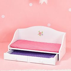 Olivia's Little World Little Princess Doll Furniture 18-in. Trundle Bed by