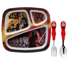 Star Wars: Episode VII The Force Awakens 3-pc. Kid's Dinnerware Set