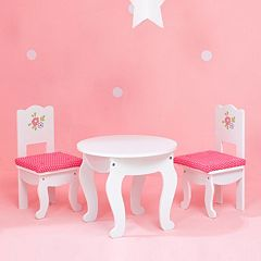 Olivia's Little World Little Princess Doll Furniture 18-in. Table & Chairs Set by