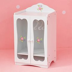 Olivia's Little World Little Princess Doll Furniture 18-in. Fancy Closet & Hangers by
