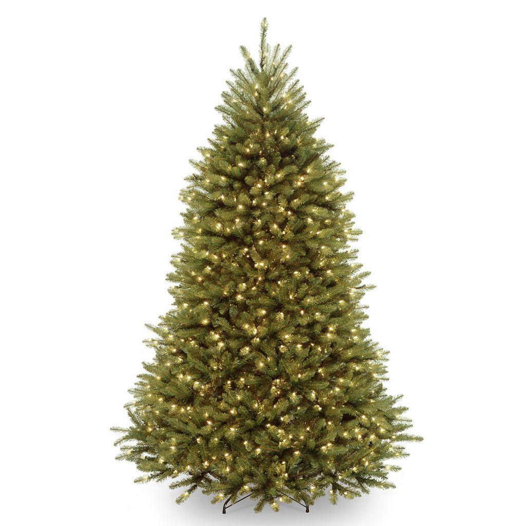 7.5-ft. Pre-Lit LED Multicolor Dunhill Fir Artificial Christmas Tree