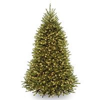 7.5-ft. Pre-Lit LED Multicolor Dunhill Fir Artificial Christmas Tree