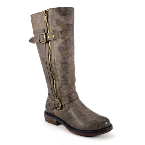 Corkys Angelina Women's Distressed Riding Boots