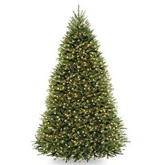 9-ft. Pre-Lit Dunhill Fir Dual Color Artificial Christmas Tree