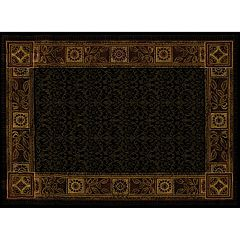 United Weavers China Garden Cypress Framed Floral Rug