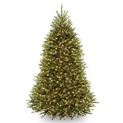 7.5-ft. Pre-Lit Dual LED Dunhill Fir Artificial Christmas Tree