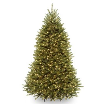 7.5-ft. Pre-Lit Dual LED Dunhill Fir Artificial Christmas Tree