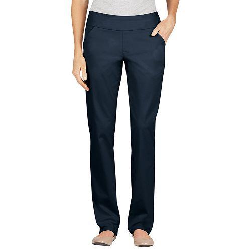 Dickies Modern Fit Straight-Leg Pull-On Jeans - Women's