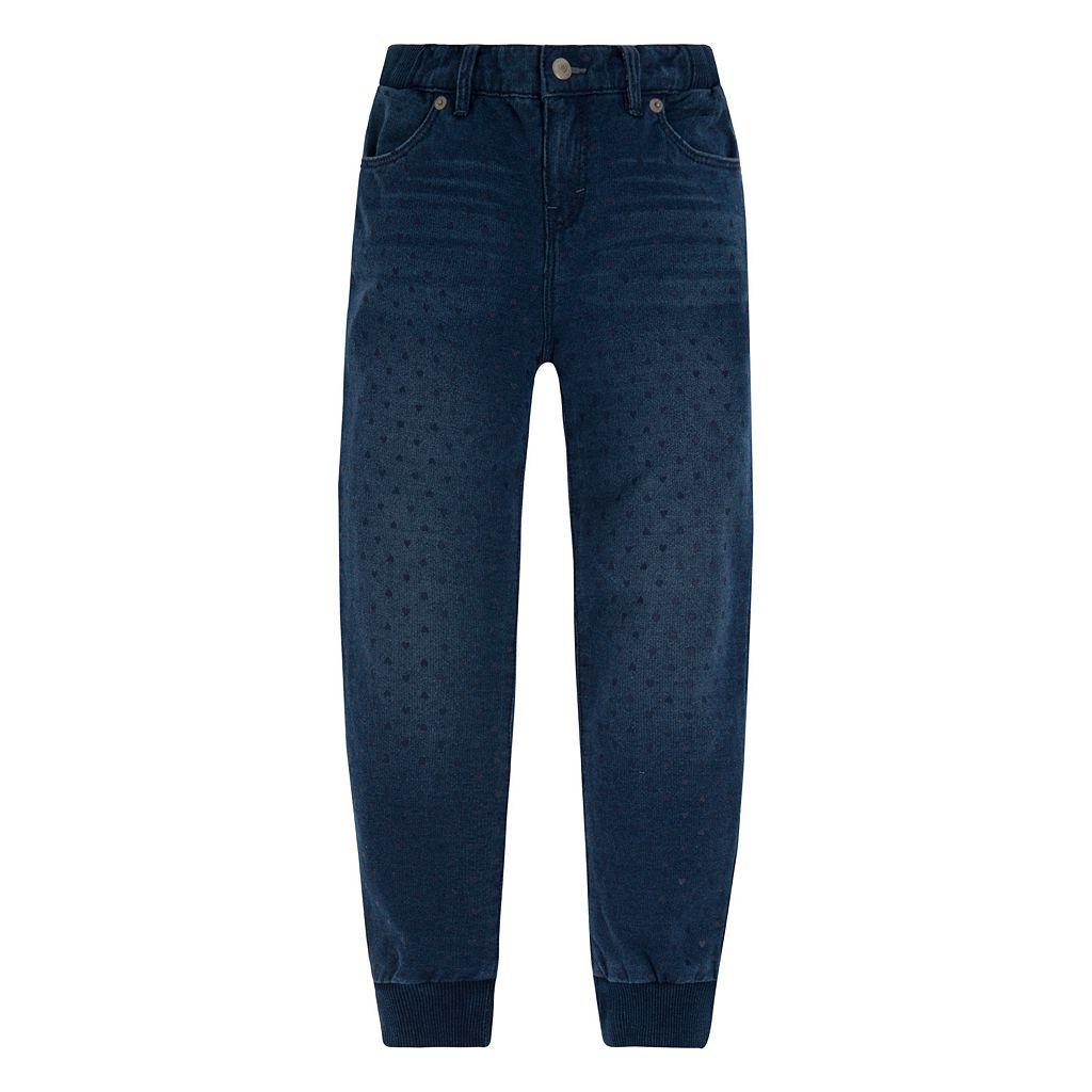 Girls 4-6x Levi's Sweetheart Knit Jogger Pants