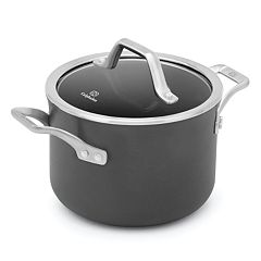 Calphalon Signature 4-qt. Hard-Anodized Nonstick Aluminum Soup Pot