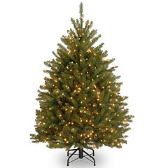 4.5-ft. Pre-Lit Dunhill Fir Artificial Christmas Tree