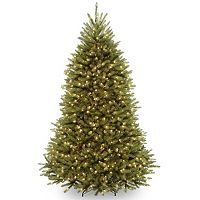 6.5-ft. Pre-Lit Dunhill Fir Artificial Christmas Tree