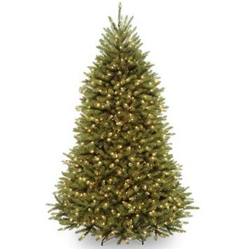7-ft. Pre-Lit Dunhill Fir Artificial Christmas Tree