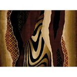 United Weavers China Garden Mojave Animal Print Rug