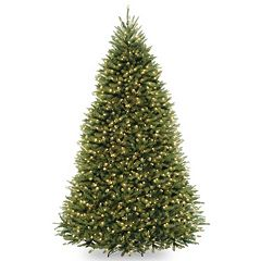 9-ft. Pre-Lit Dunhill Fir Artificial Christmas Tree