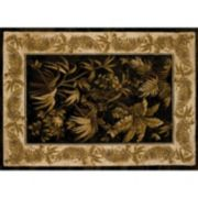United Weavers China Garden Aruba Framed Floral Rug