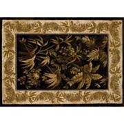 United Weavers China Garden Aruba Framed Floral Rug