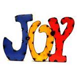 Rustic Arrow ''Joy'' Multicolor Wall Decor