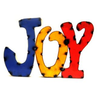 Rustic Arrow ''Joy'' Multicolor Wall Decor