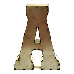 Rustic Arrow 14-Inch Letter Wall Decor
