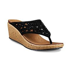 Skechers Beverlee Dazzled Women's Wedge Sandals by