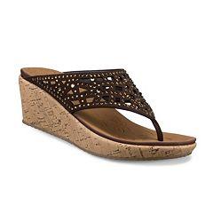 Skechers Beverlee Dazzled Women's Wedge Sandals
