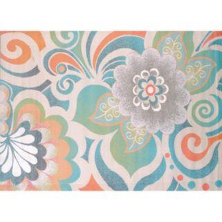 United Weavers Urban Galleries Lace Floral Rug