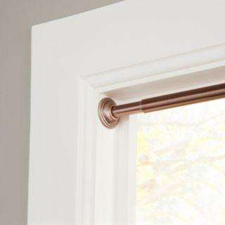 Sun Zero Room Darkening Adjustable Tension Curtain Rod