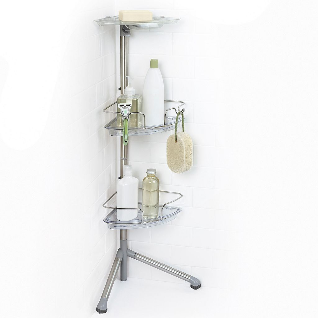 OXO Slide & Lock Standing Shower Caddy