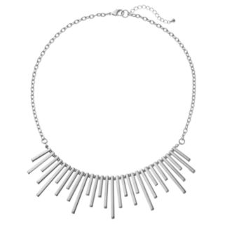 Staggered Stick Necklace