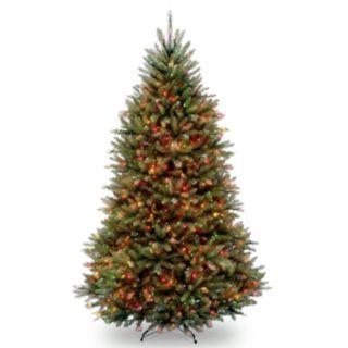 7.5-ft. Pre-Lit Multicolor Dunhill Fir Artificial Christmas Tree
