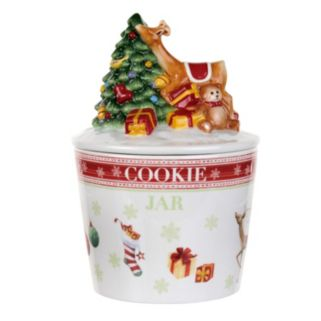 Spode Christmas Jubilee Cookie Jar
