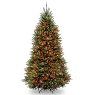 9-ft. Pre-Lit Multicolor Dunhill Fir Artificial Christmas Tree