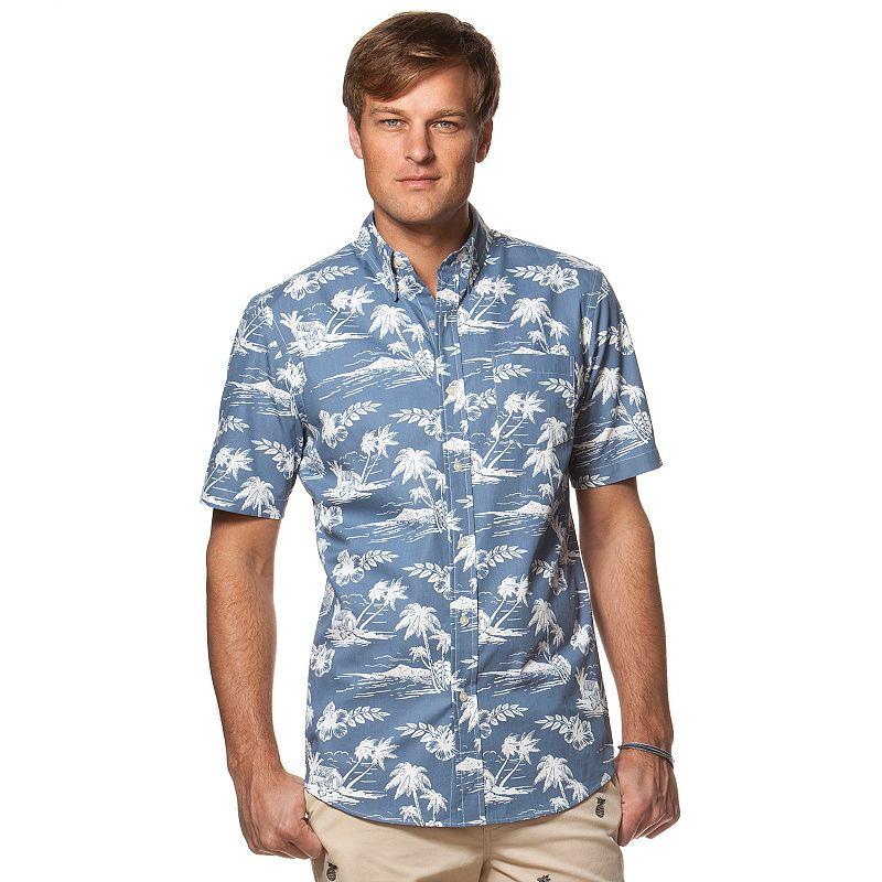 Men's Chaps Tropical Button-Down Shirt