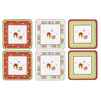 Spode Christmas Jubilee 6-pc. Coaster Set