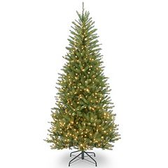 7.5-ft. Pre-Lit Dunhill Slim Fir Artificial Christmas Tree