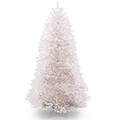 7.5-ft. Pre-Lit White Dunhill Fir Artificial Christmas Tree
