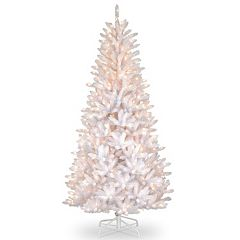 7.5-ft. Pre-Lit Iridescent Dunhill Slim Fir Artificial Christmas Tree