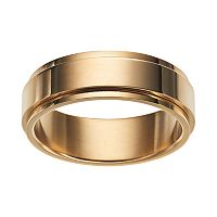 Stainless Steel Men's Spinner Wedding Band