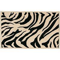 Surya Goa Zebra Wool Rug