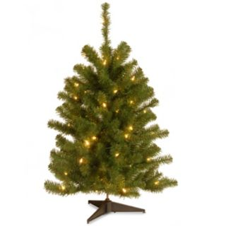3-ft. Pre-Lit Eastern Spruce Artificial Christmas Tree