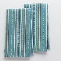Food Network Waffle Stripe Kitchen Towels - 2-pk.