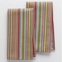 Food Network Waffle Stripe Kitchen Towels - 2-pk.