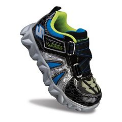 Skechers Datarox Hydrometer Boys' Glow-In-The-Dark Athletic Shoes