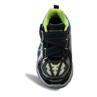 Skechers Datarox Hydrometer Boys' Glow-In-The-Dark Athletic Shoes