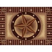 United Weavers China Garden Texas Road Framed Rug