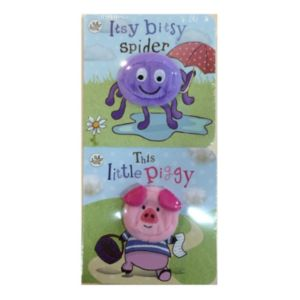 Levy Little Learners 2-pk. Finger Puppet Books