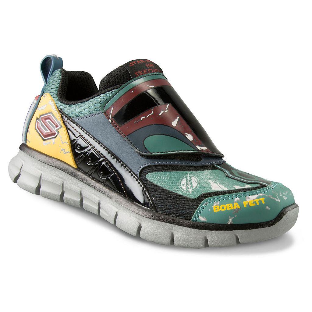 Skechers Star Wars Boba Fett Eulon Synergy Boys' Athletic Shoes