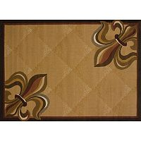 United Weavers China Garden Corner Fleur De Lis Rug