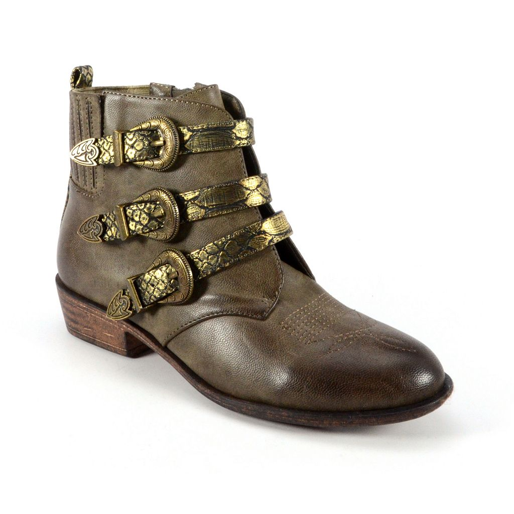 Corkys Bombshell Women's Antique Booties